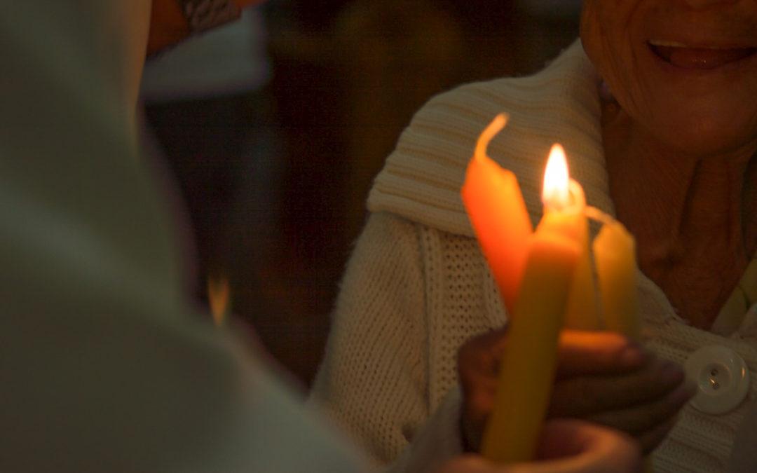 Una candela para el bien morir